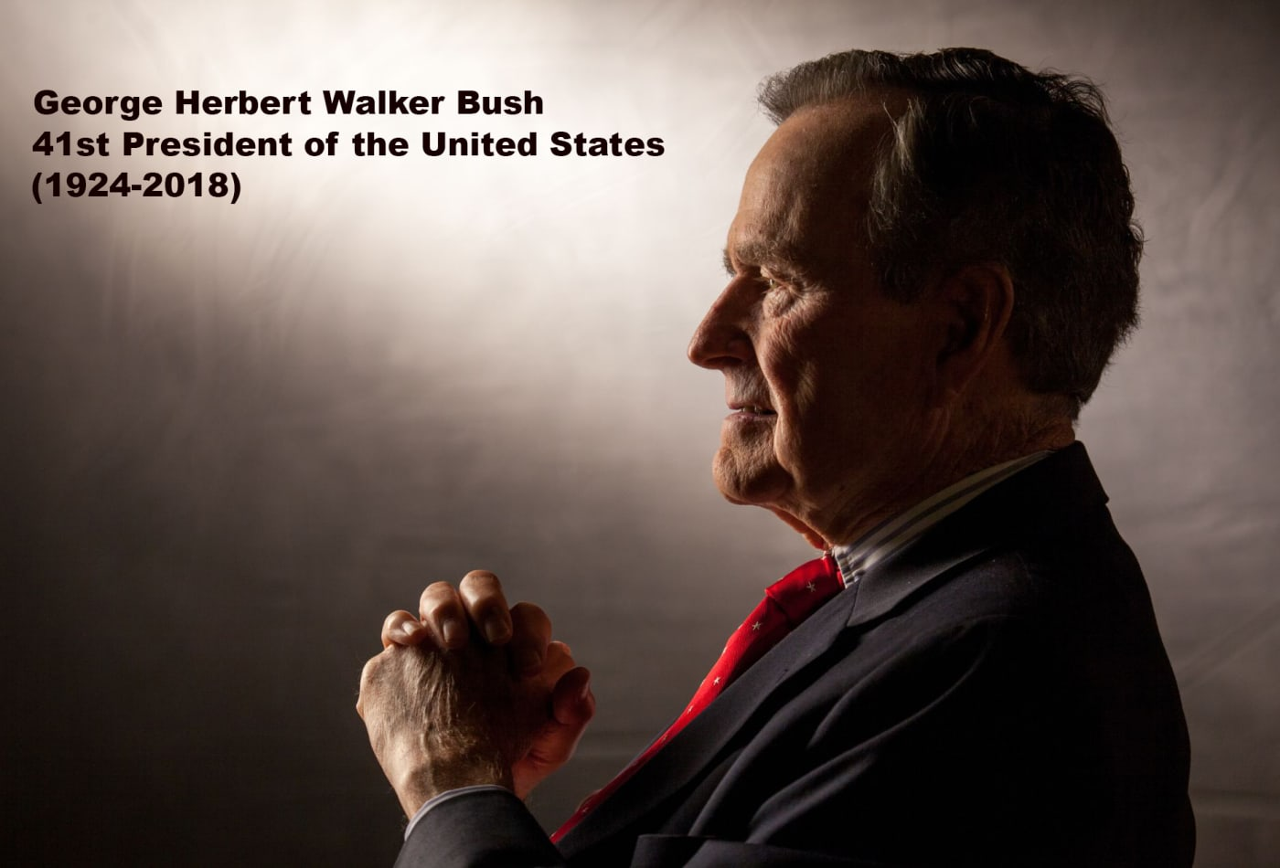 size 40 134e5 e5c4b In pictures: A nation mourns the 41st president, George HW Bush