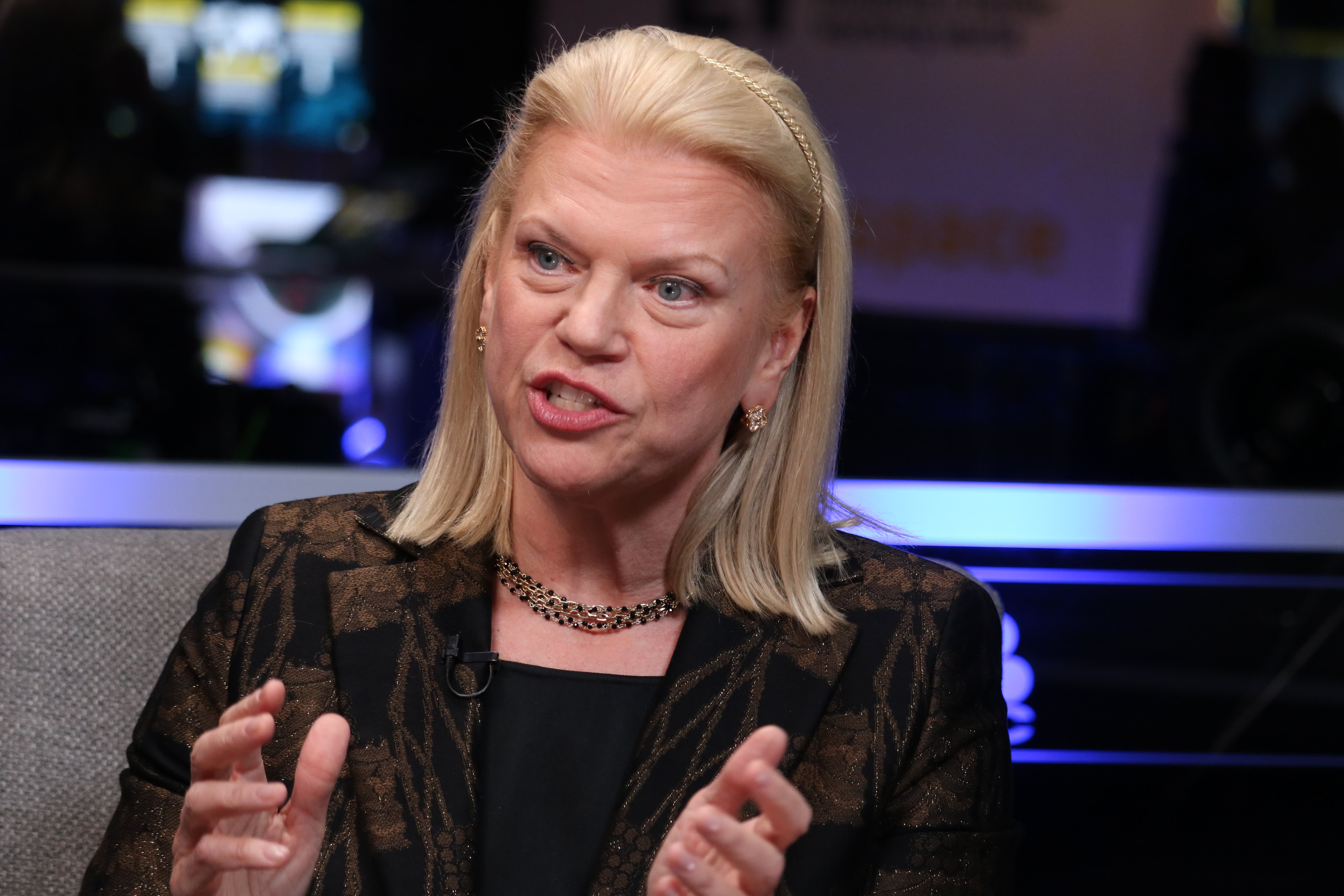 IBM's Ginni Rometty says automobile brands are becoming less important