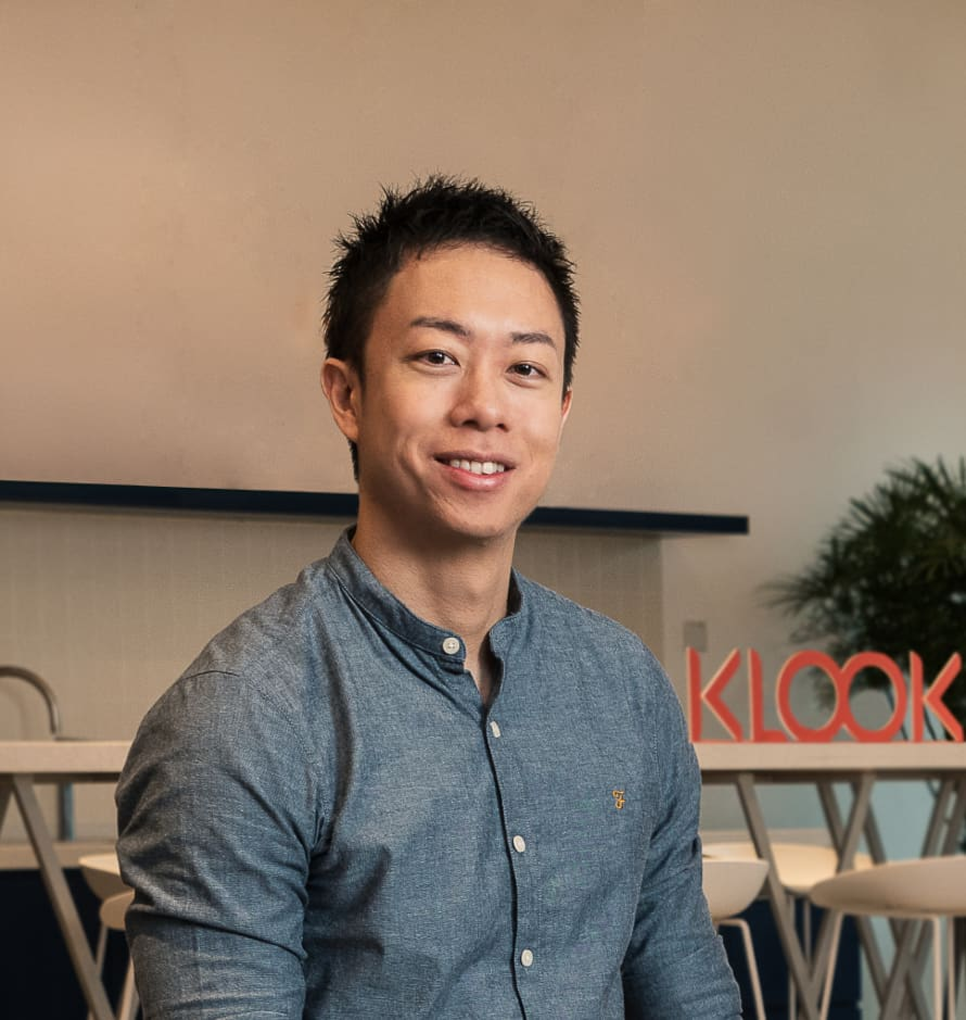 The co-founder of billion-dollar start-up Klook found his business partner on LinkedIn