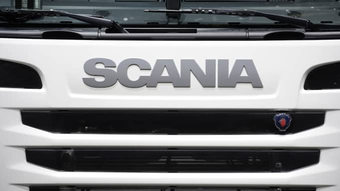 Transport giant Scania is working on a hydrogen-powered