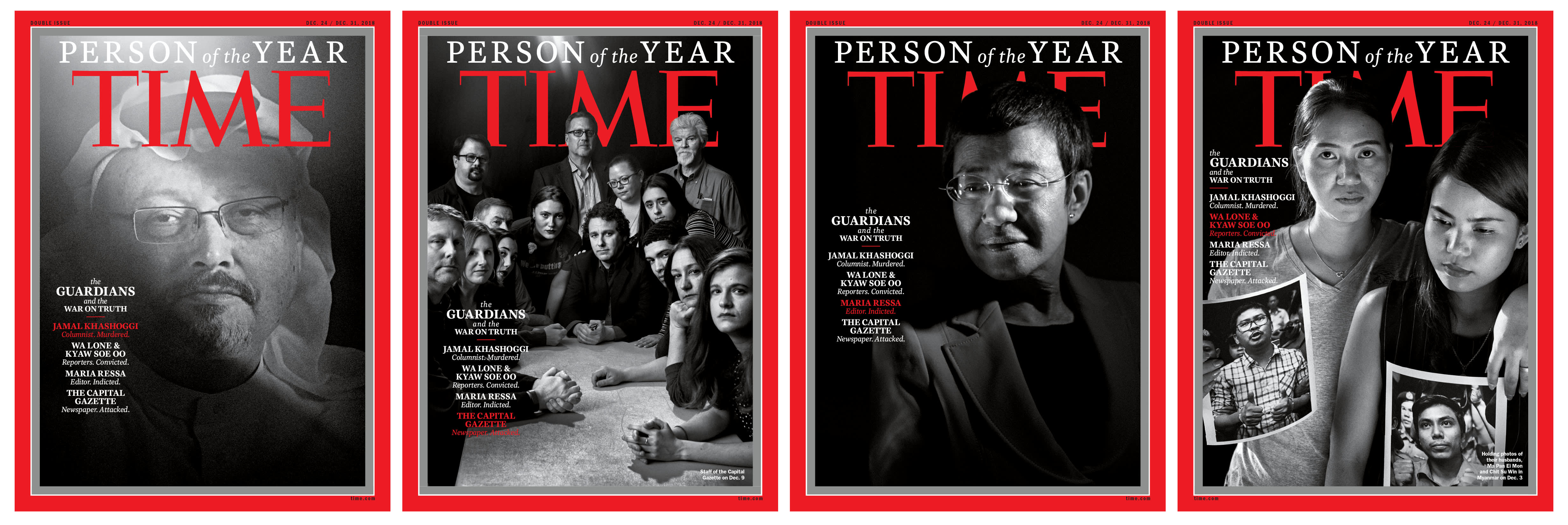 TIME Person of the year 2018 Journalists