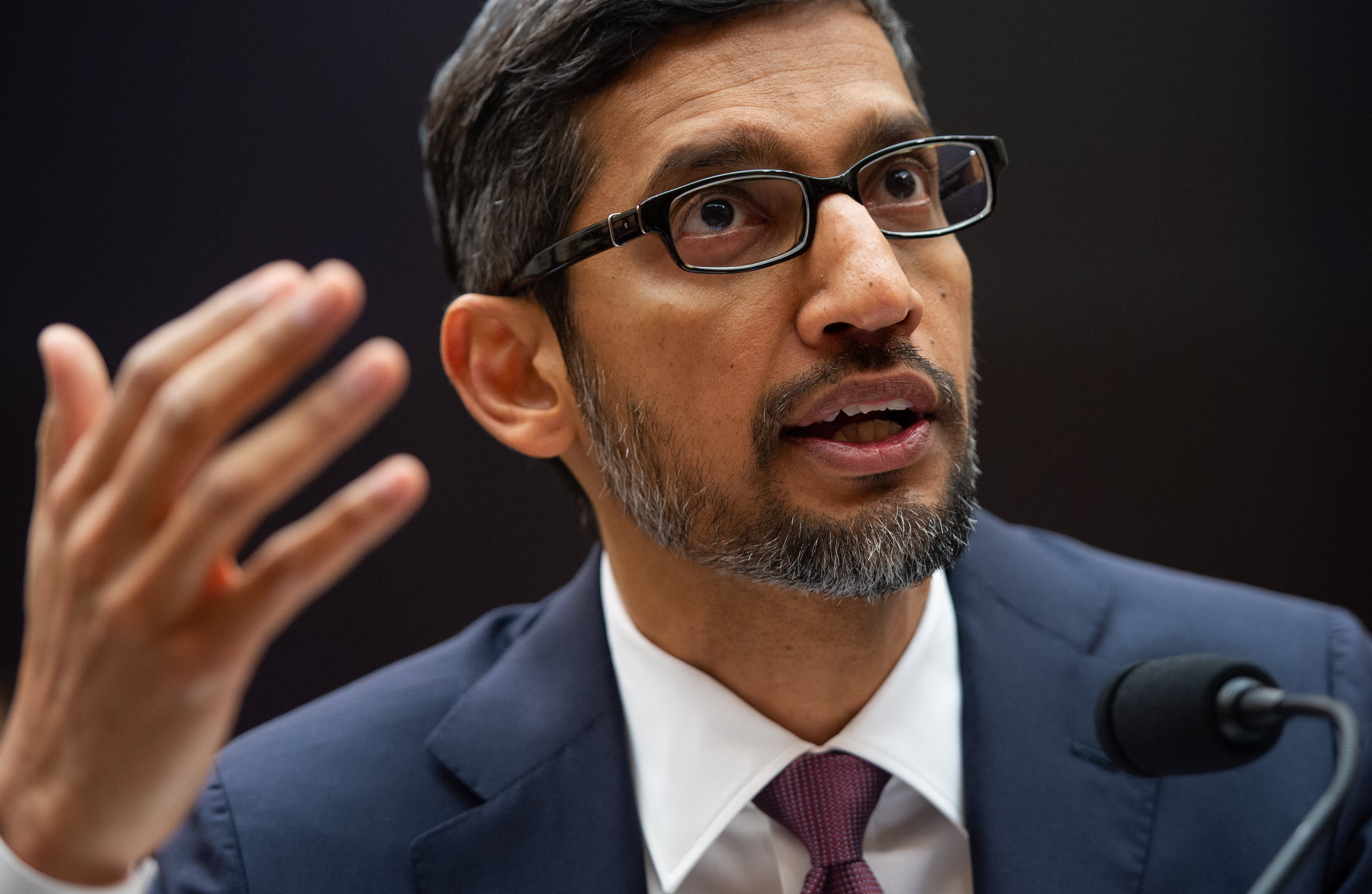 Google CEO takes a jab at Apple's security pitch: 'Privacy cannot be a luxury good'