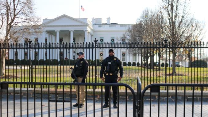 CNBC: White House Secret Service DC 181210