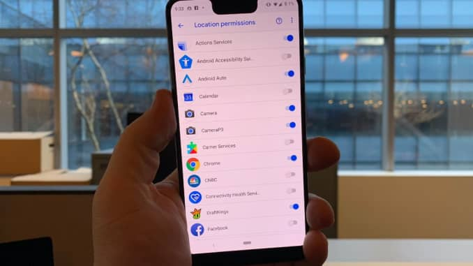 CNBC Tech: Android app tracking