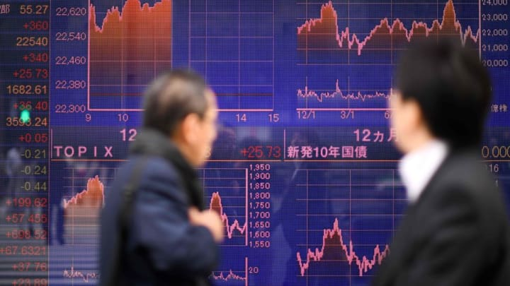Asia stocks edge up amid better-than-expected earnings stateside