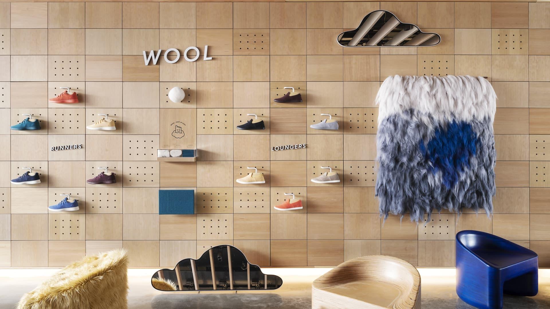 Allbirds' New York City retail store is located in Manhattan's trendy SoHo neighborhood.