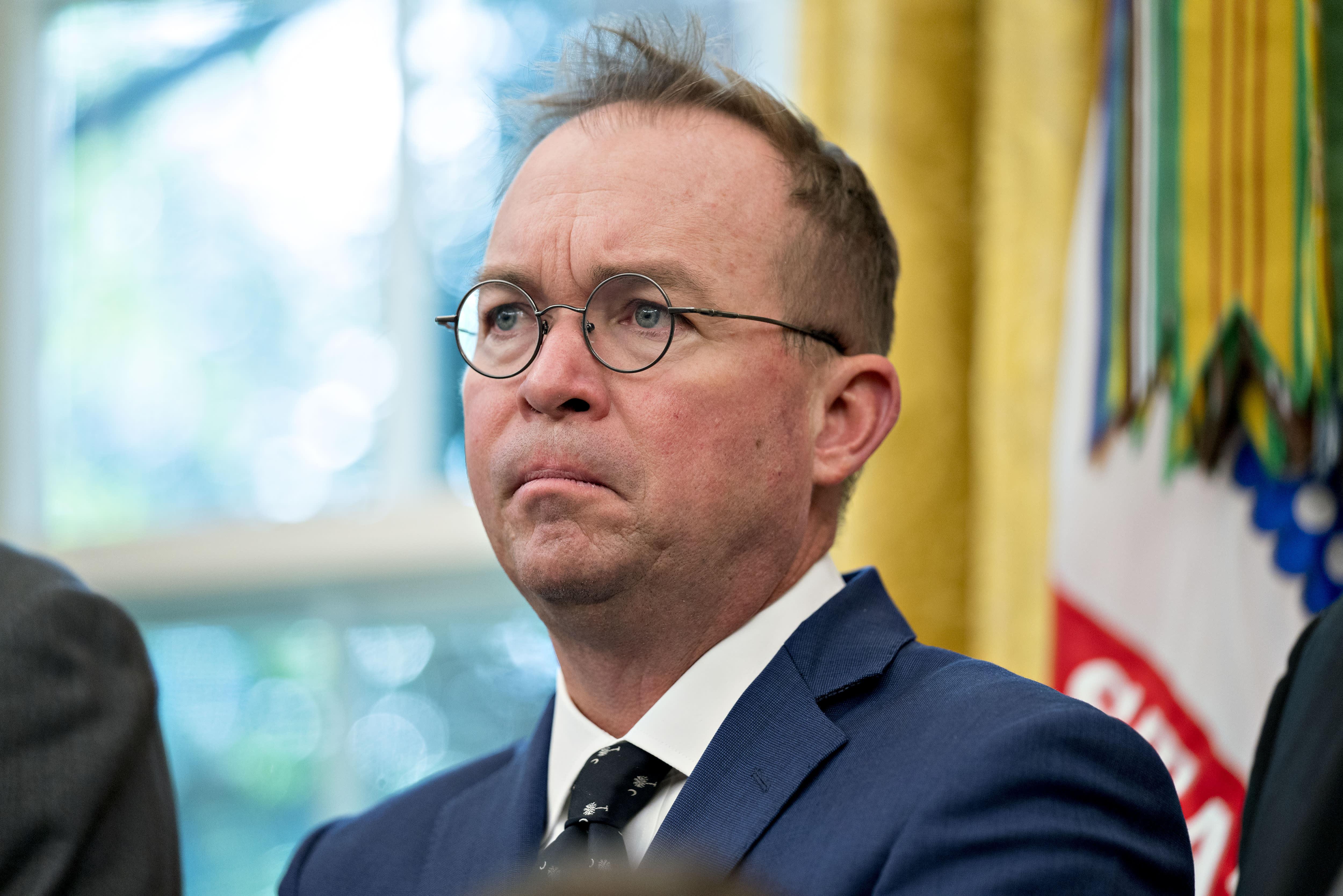 House Democrats subpoena Mick Mulvaney in impeachment probe
