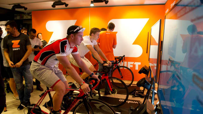 Cycling game Zwift raises $120 million Series B to invest in