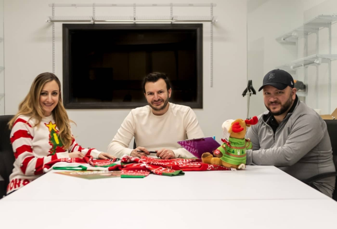 fb19a5af2 How 3 Michigan siblings turned ugly Christmas sweaters into a business  bringing in over  5 million a year