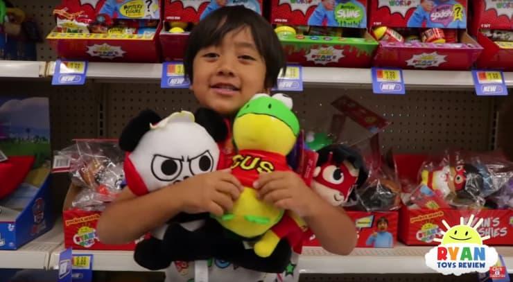 VS: Ryan ToysReview YouTube