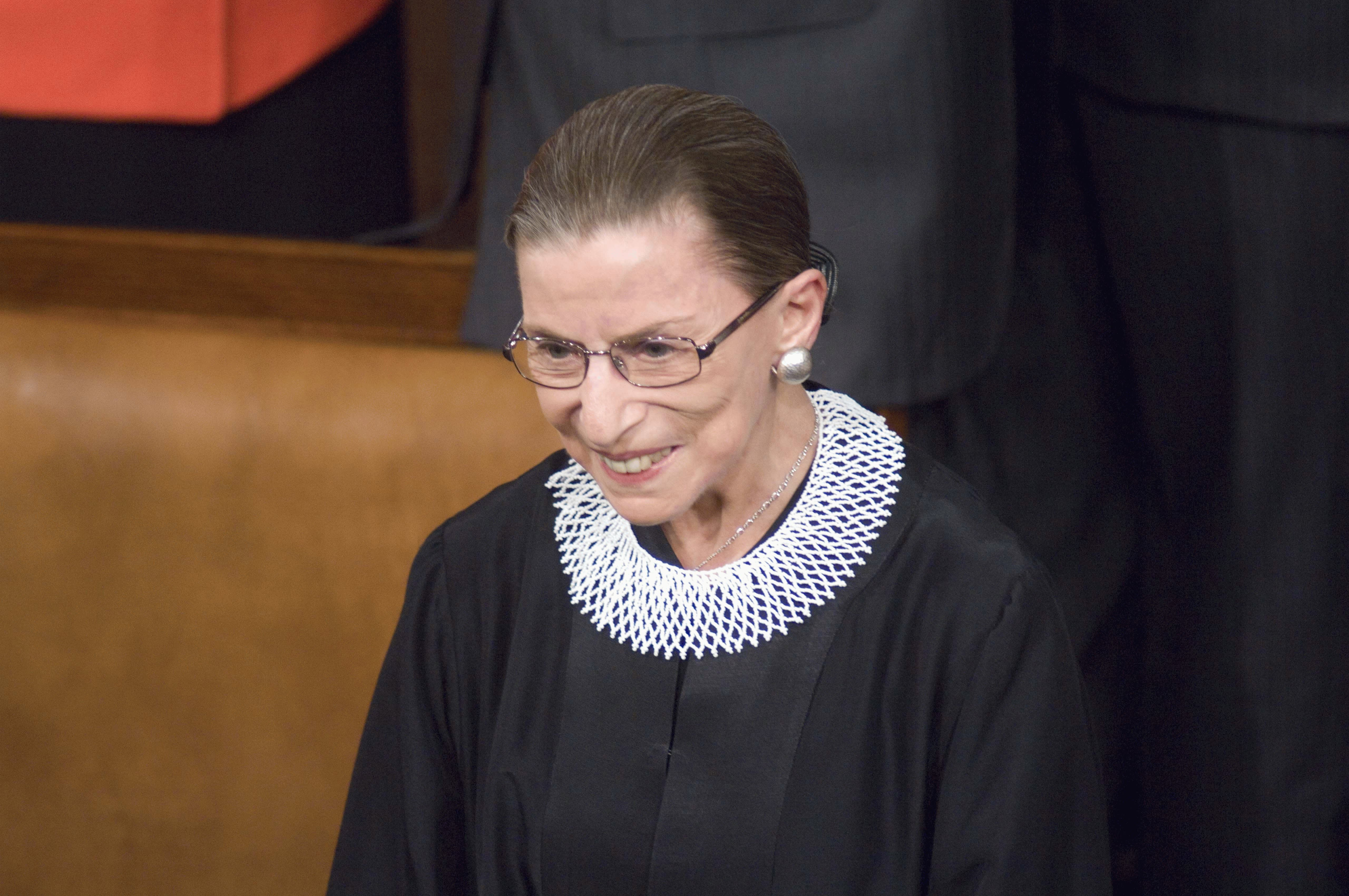Ruth Bader Ginsburg returns to Supreme Court after missing arguments due to illness