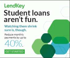 Lendkey Student Loans graphic