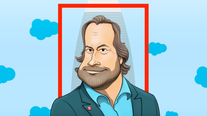 Salesforce Marc Benioff talks tech ethics, Time Magazine and