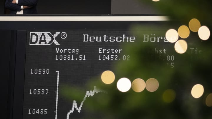 German DAX faces worst year in a decade amid global
