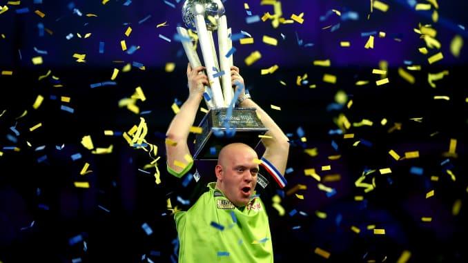 Darts: World champion Michael van Gerwen wins $630,000 prize