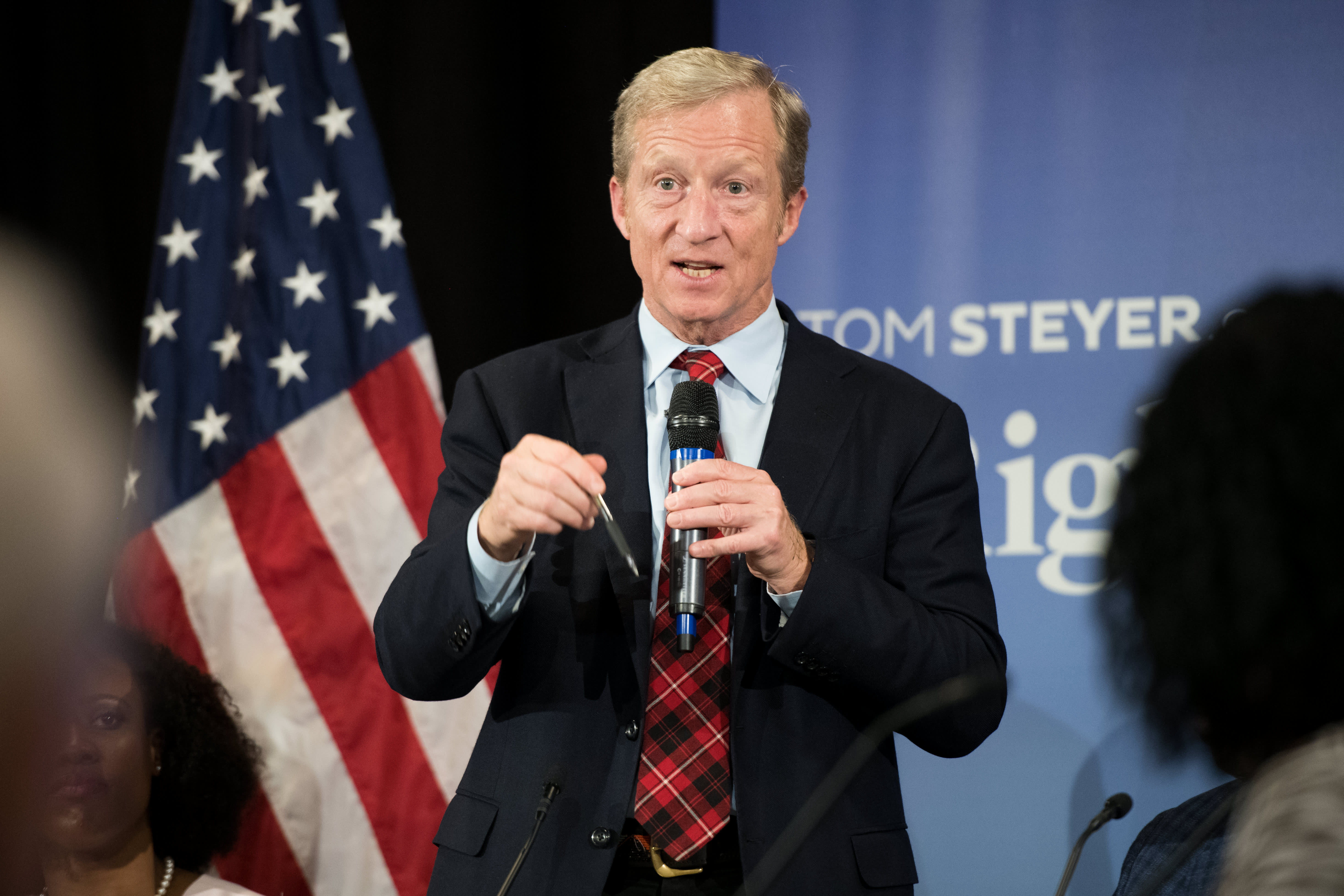 Tom Steyer 2020 Presidential Candidate Beat Trump Official Campaign Placard
