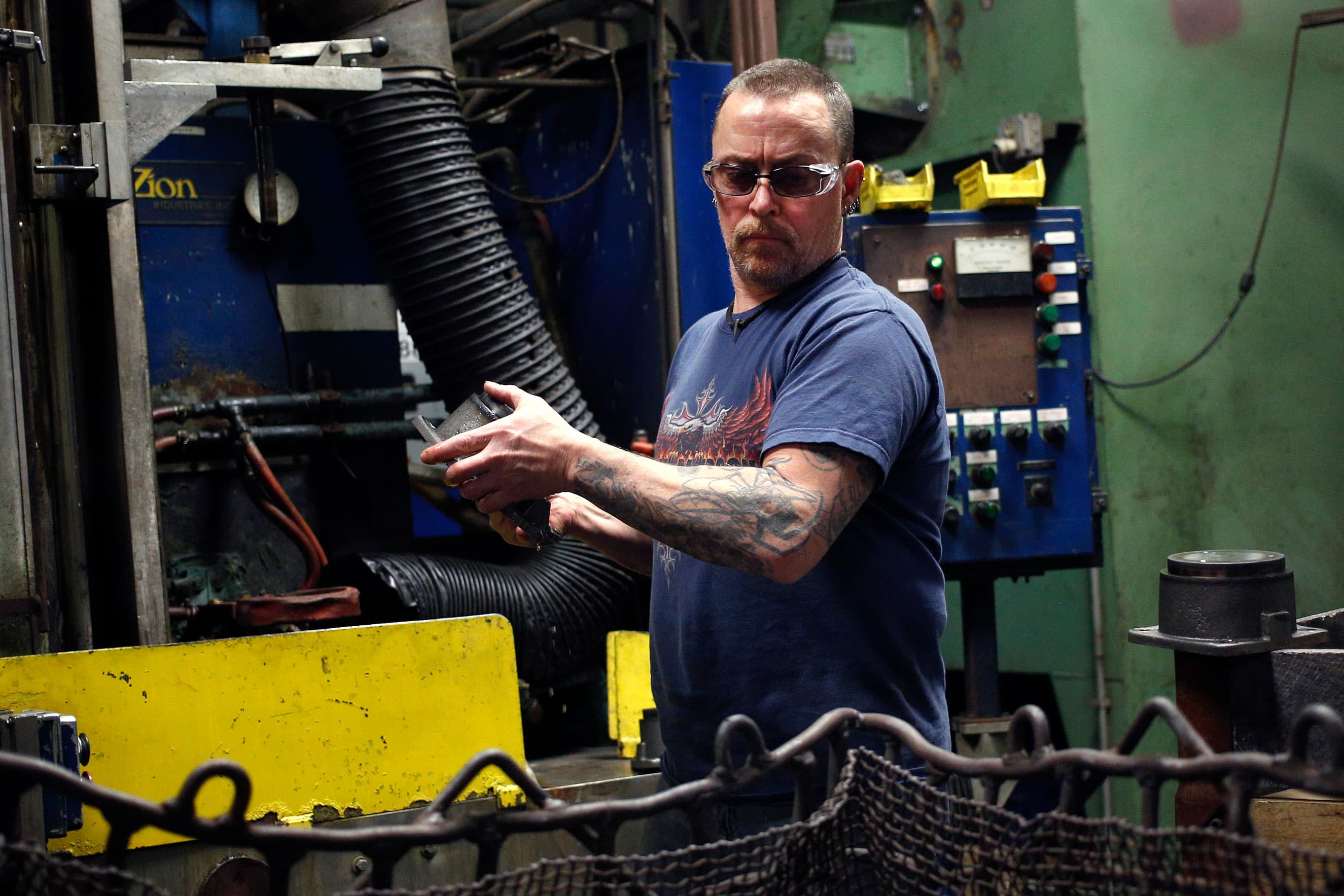 US manufacturing at lowest point in last three years
