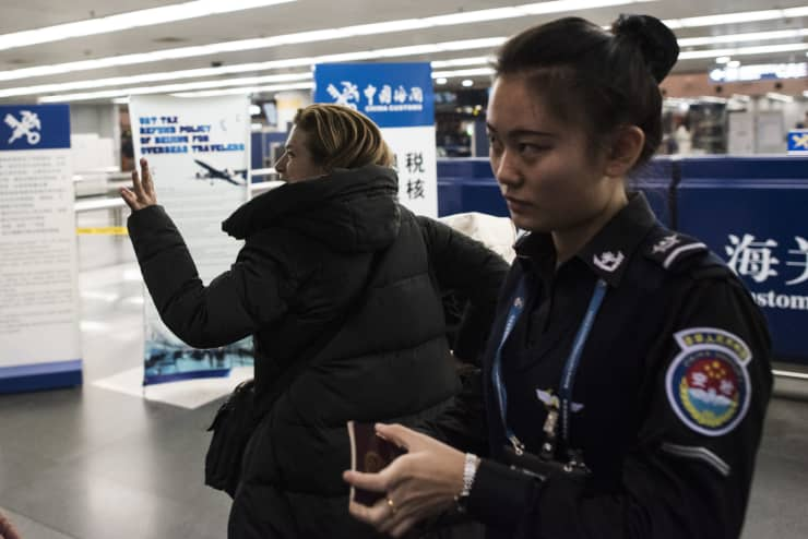 GP: China airport security travel