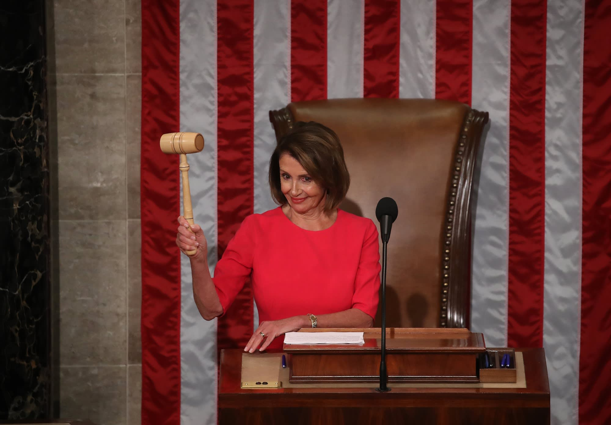 Nancy Pelosi Is Elected House Speaker For The Second Time