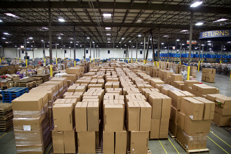 H/O: Warehouse inventory Optoro