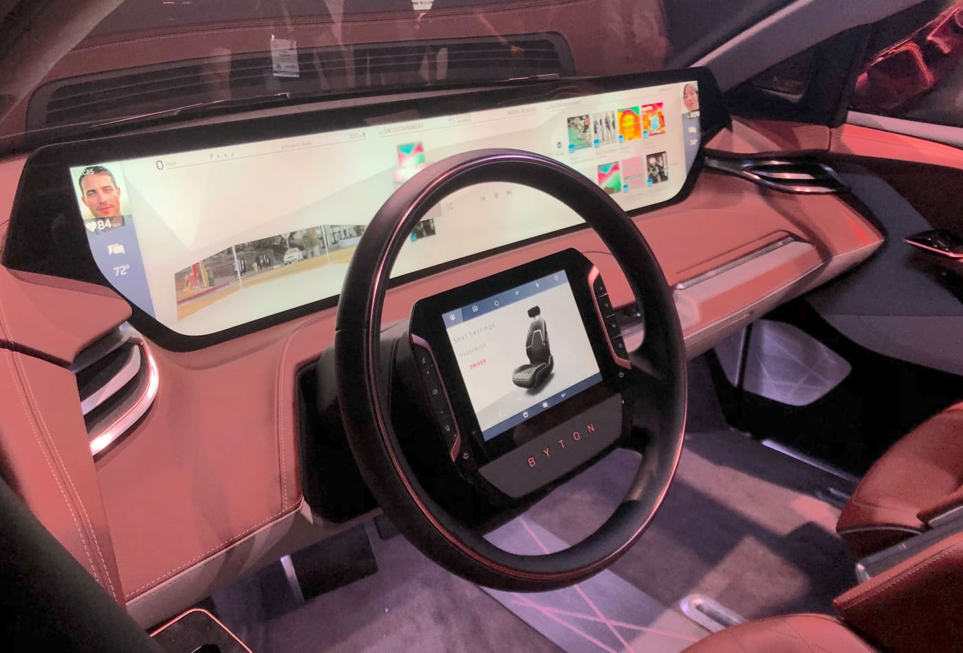 At CES 2019, self-driving cars with VR and facial recognition