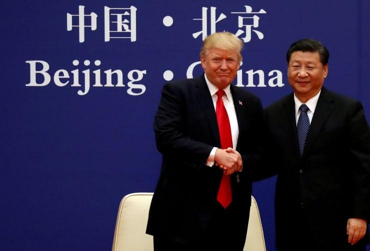 RT: Donald Trump Xi Jinping US China trade tariffs