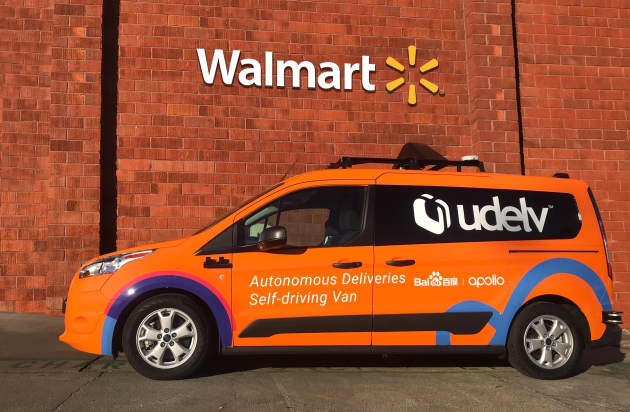 Walmart Taps Udelv For Latest Driverless Car Grocery Delivery Tests