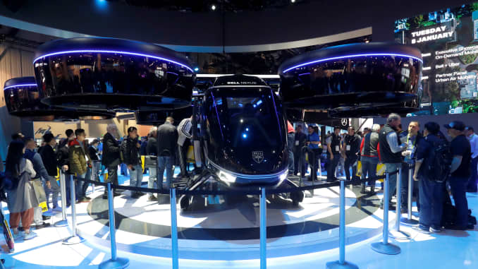 CES becomes one of the biggest auto shows as Ford to Uber