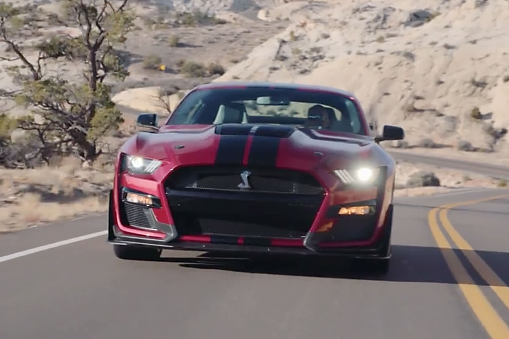 Ford reveals horsepower, torque for the new Mustang Shelby GT500, the 'most powerful street-legal Ford ever'