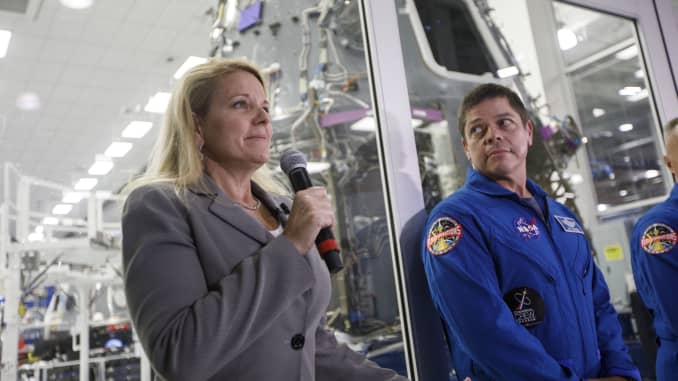 GP: Commercial Crew Program Astronaut Visit At SpaceX Headquarters