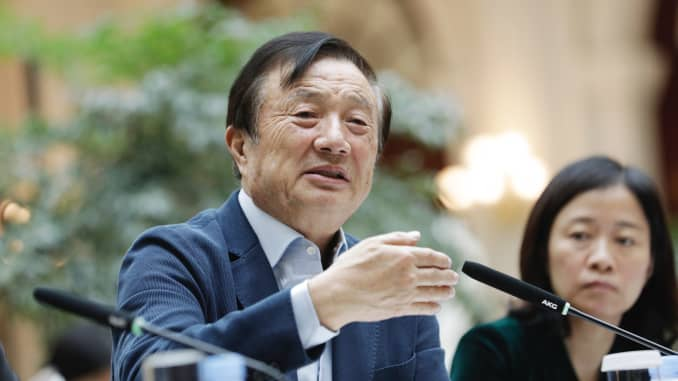 Huawei Founder Ren Zhengfei says he would not aid Chinese espionage
