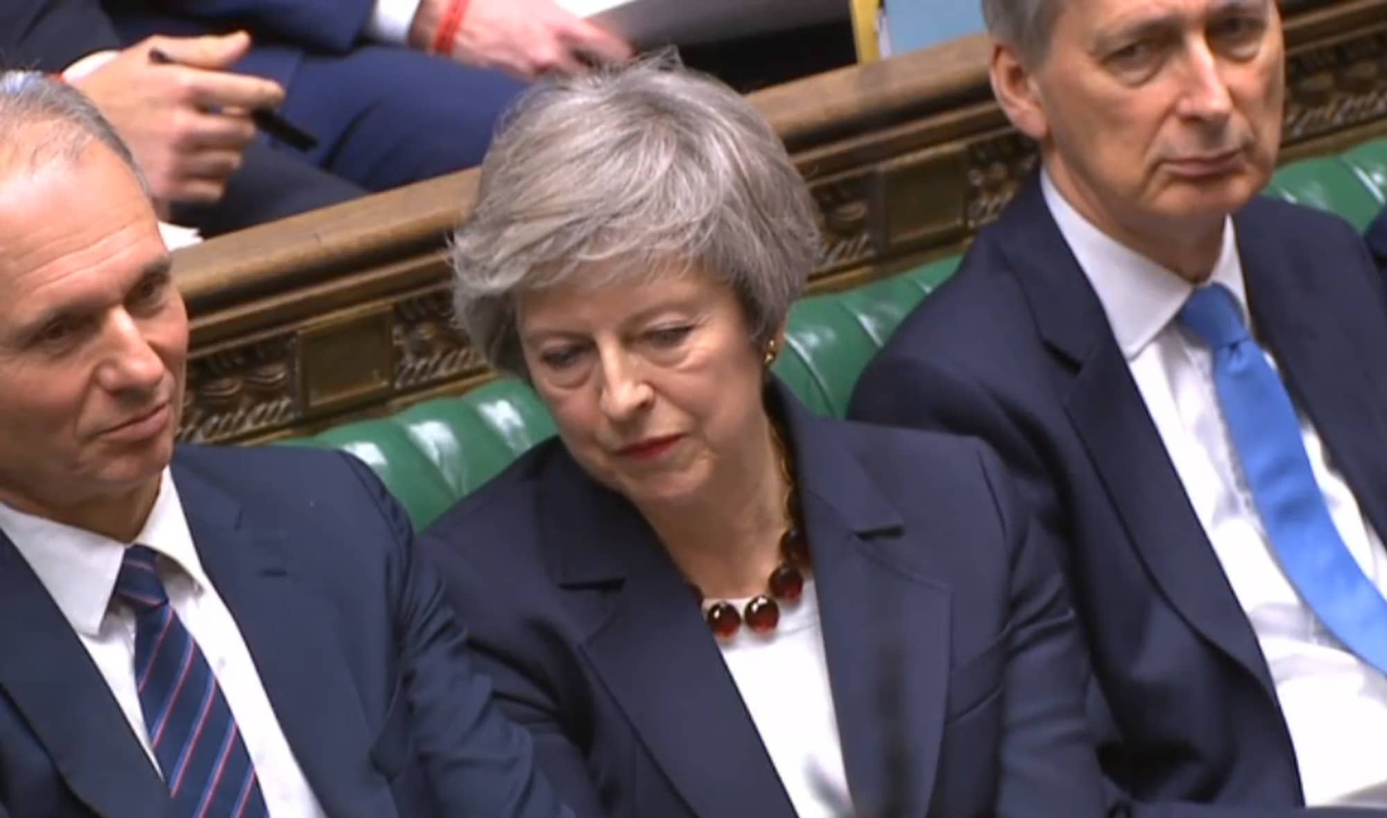 Theresa May makes last-ditch Brexit bid to win over UK lawmakers