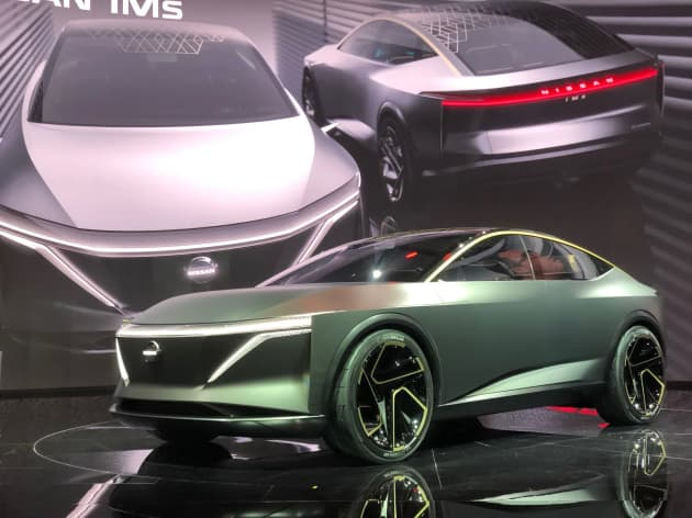 Nissan Challenges Tesla In Mive Shift To Electric With Complete Reinterpretation Of The Car