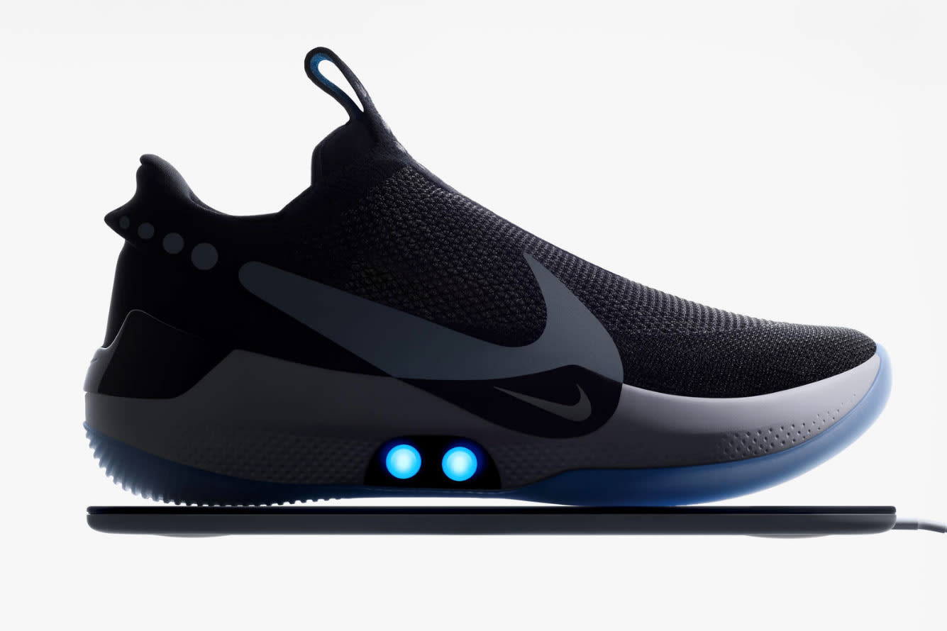 sports shoes af046 9a9af You can lace Nike s Adapt BB shoes with a smartphone app, but that s just  the beginning