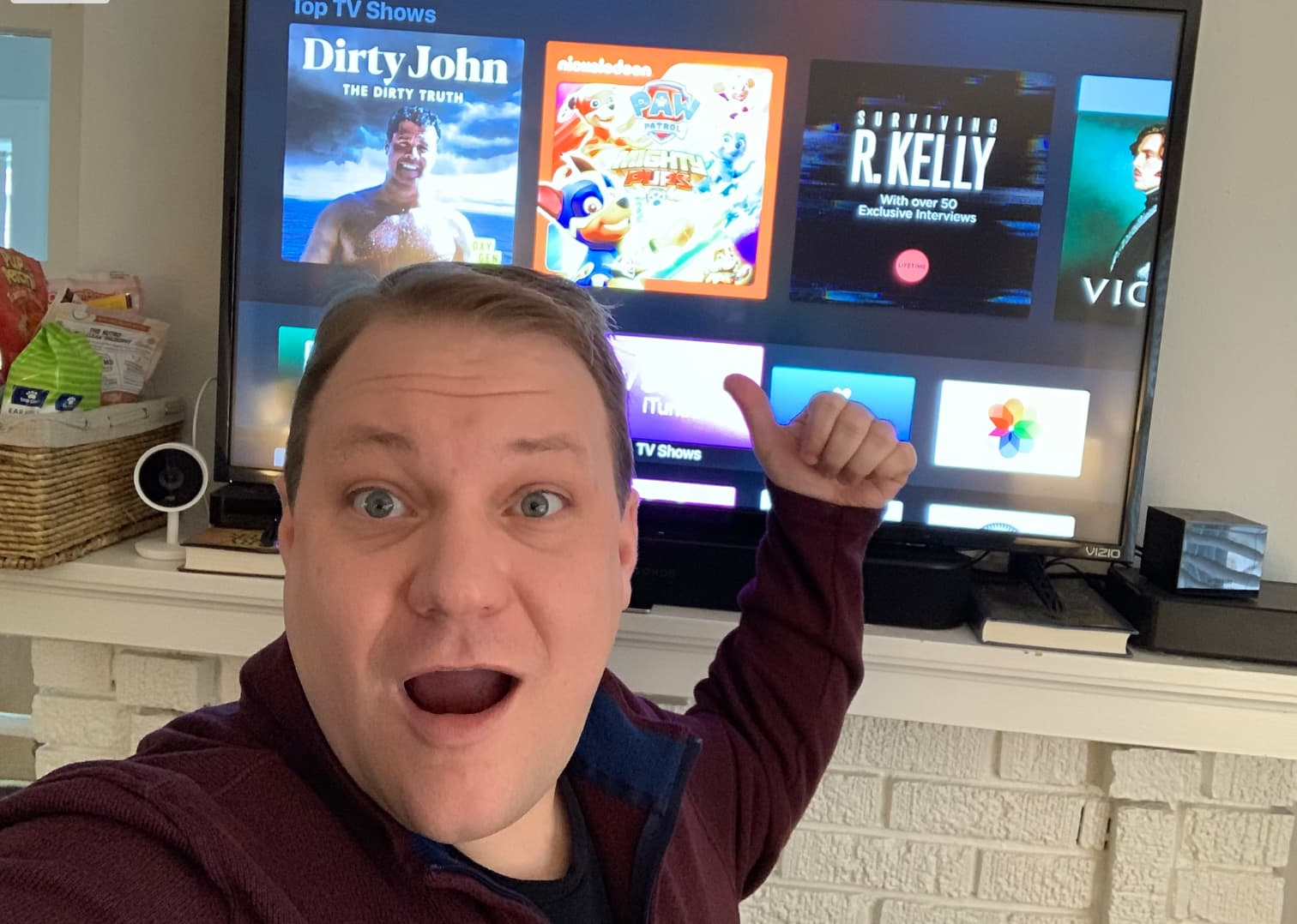 It's me Todd, your guide to the Apple TV.