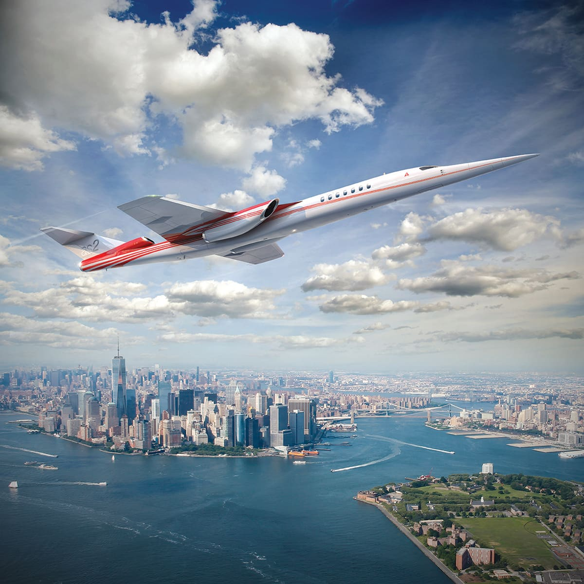Jet builder Aerion expects to fly silent supersonic planes by 2024, unlocking a $40 billion market