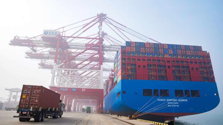 Xuất khẩu của Trung Quốc sang Mỹ trong năm 2019 đã giảm 12,5% so với năm trước