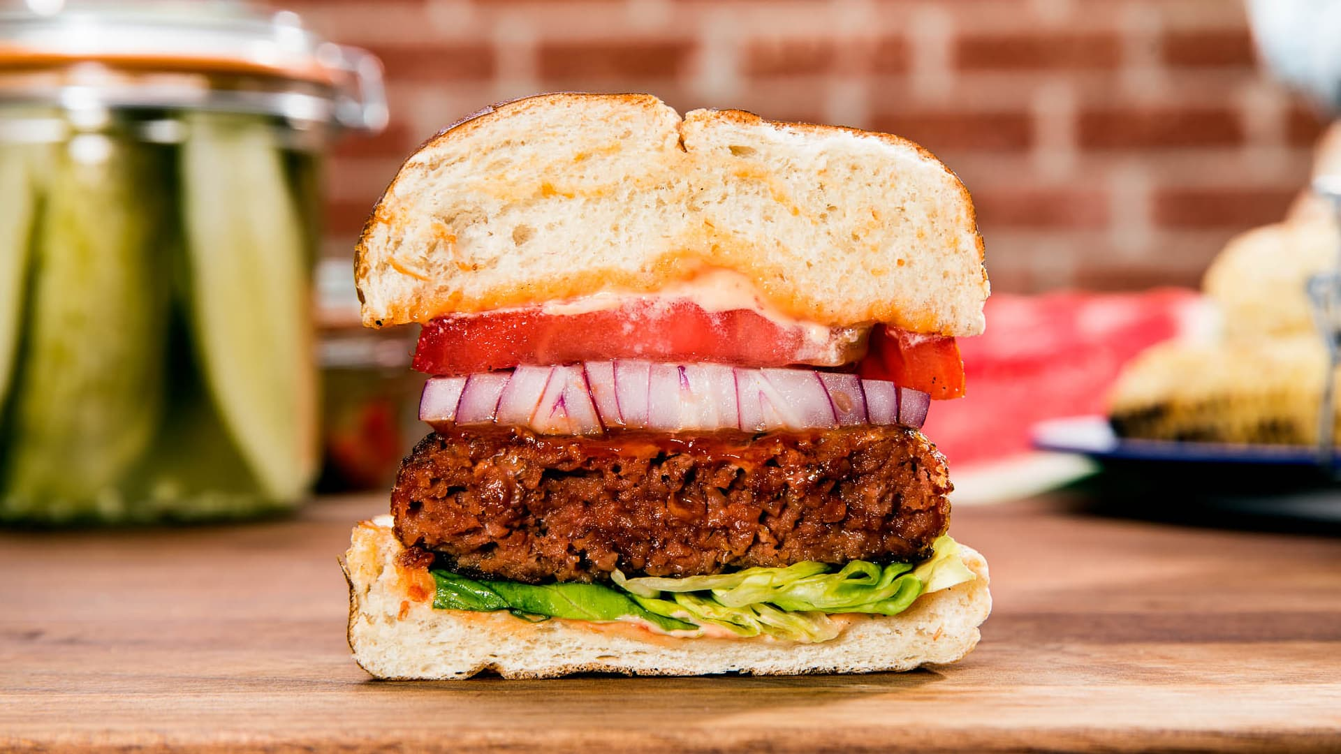 Blue Apron surges as much as 53% after adding Beyond Meat to meal kits in a bid to revive orders