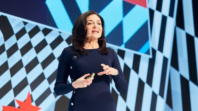 Sheryl Sandberg admits to Facebook stumbles
