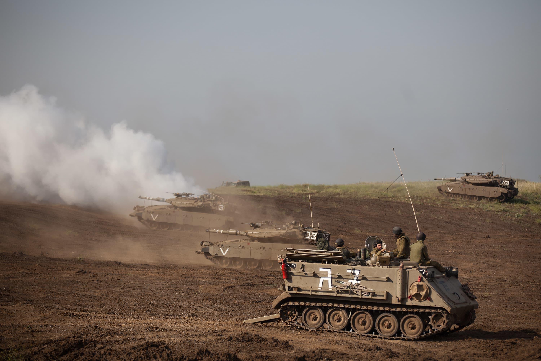 Syria, Israel exchange fire amid regional tension