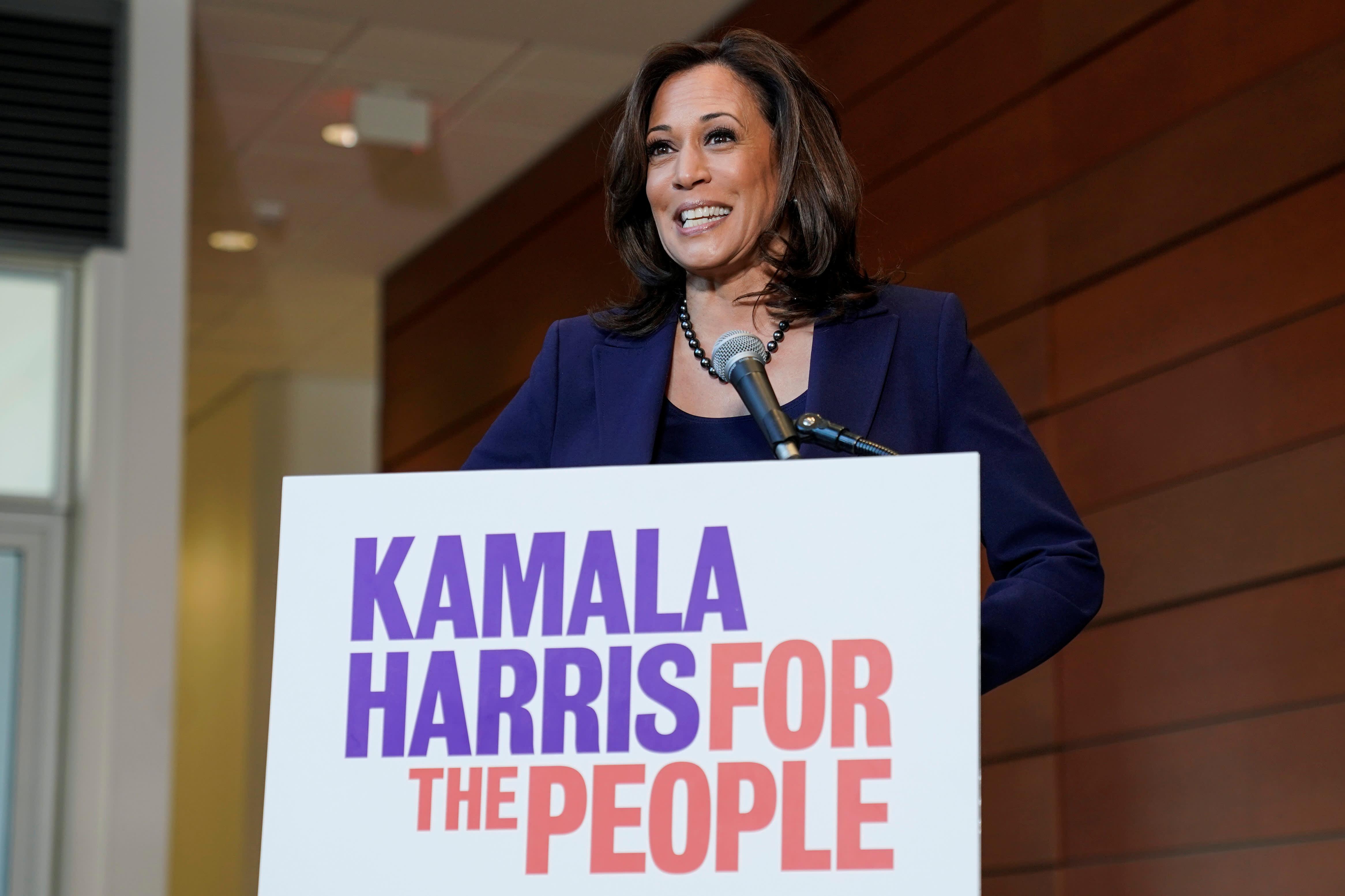 Democratic US Senator Kamala Harris jumps into 2020 White House race