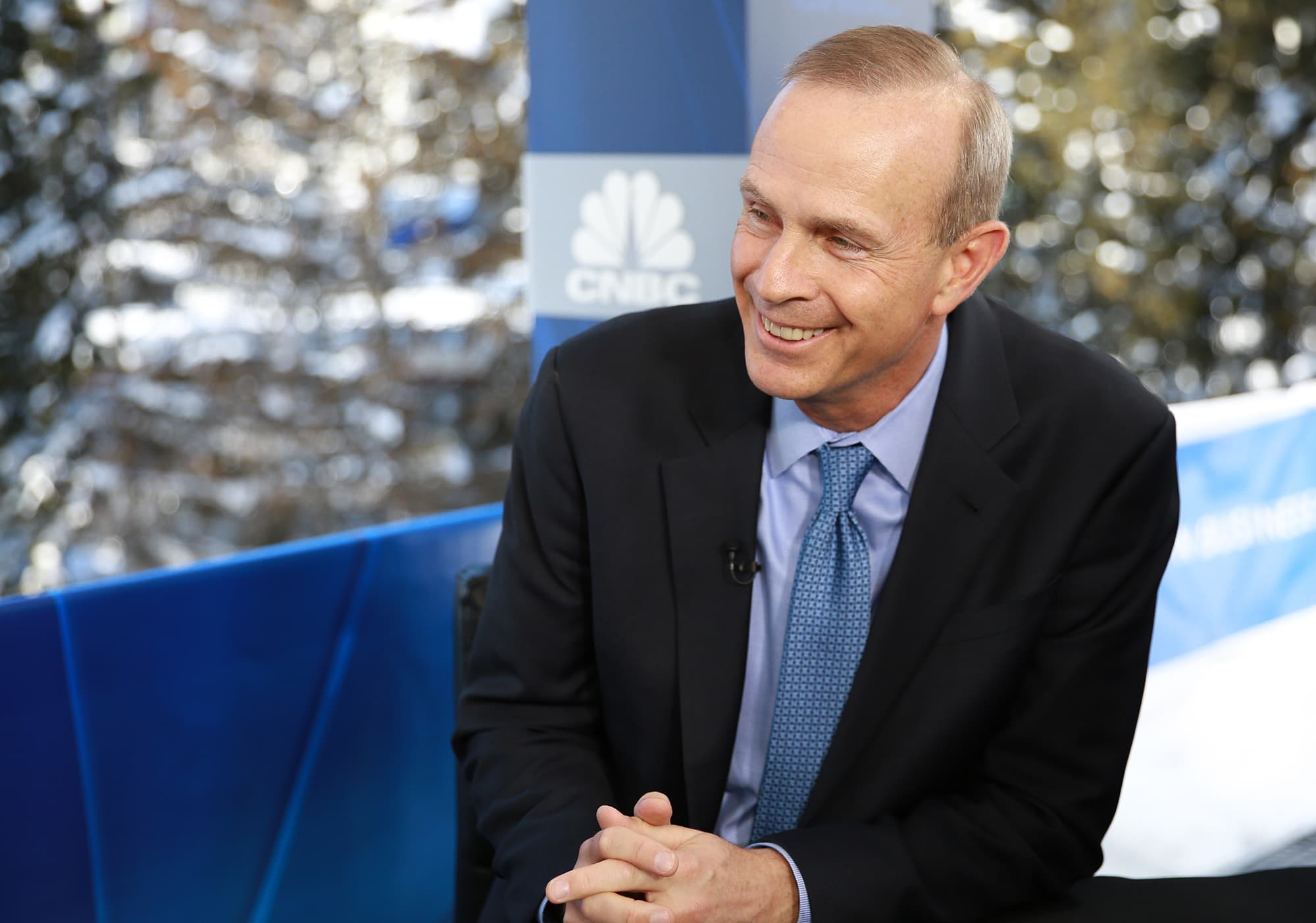 CNBC: 2019 WEF Davos: Michael Wirth CEO Chevron 1990123