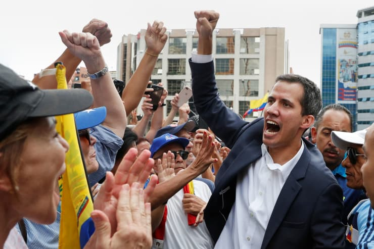 RT:Juan Guaido, Venezuela 190123