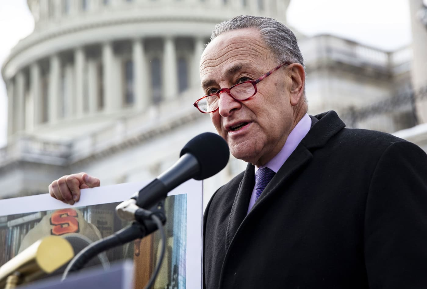 Chuck Schumer and Bernie Sanders call for restricting corporate share buybacks