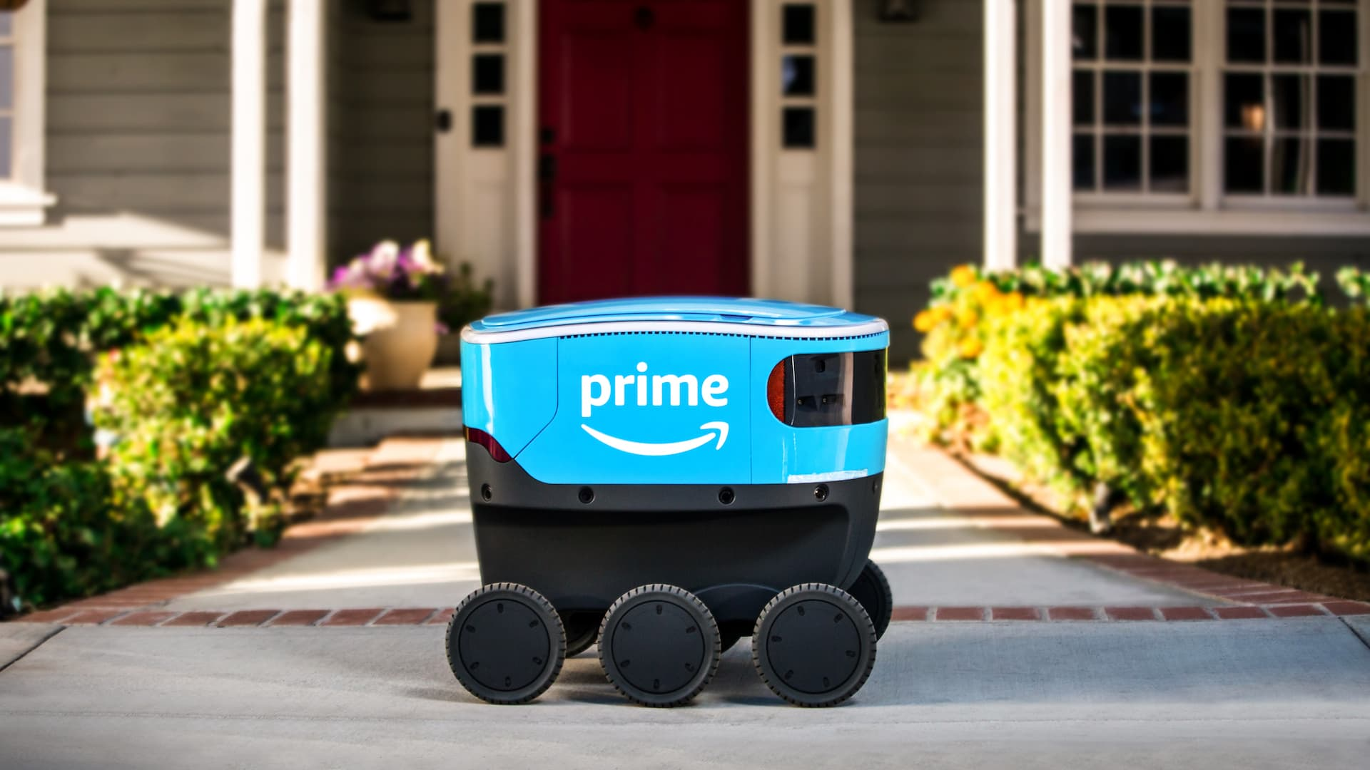 Amazon's delivery bot: Scout.