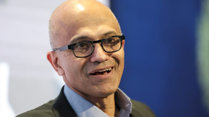 Davos: Microsoft's Nadella says facial recognition needs