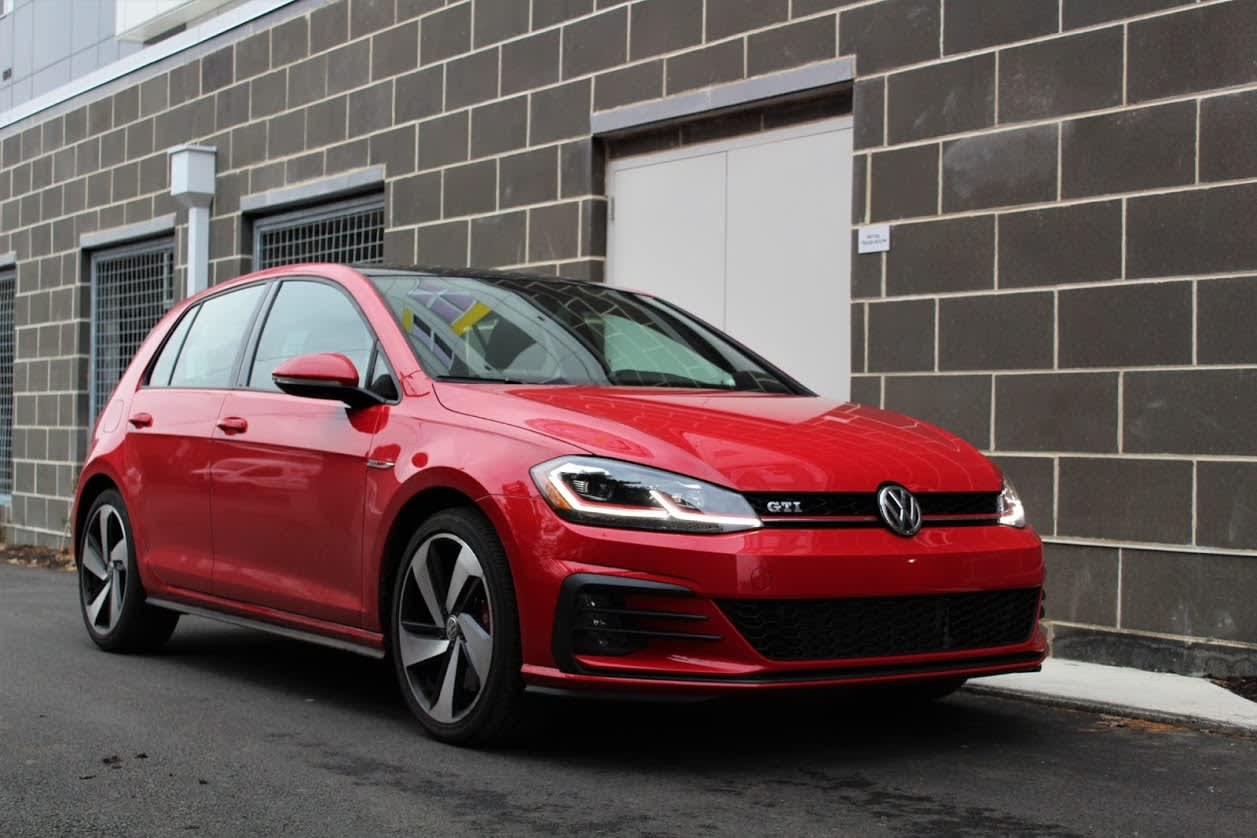 The VW GTI fast, fun and comes with a strong warranty for