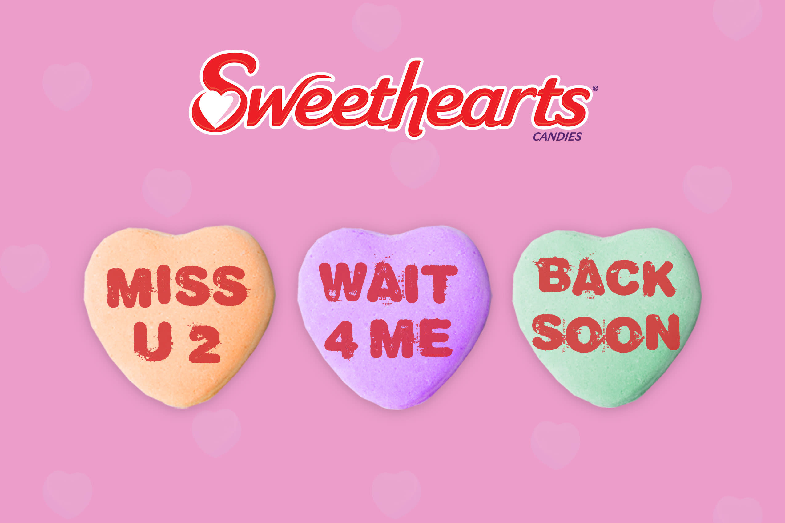 H/O: Sweetheart candy message