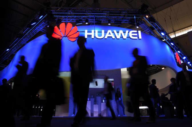 Huawei says its first-quarter revenue jumped 39% despite political pressure