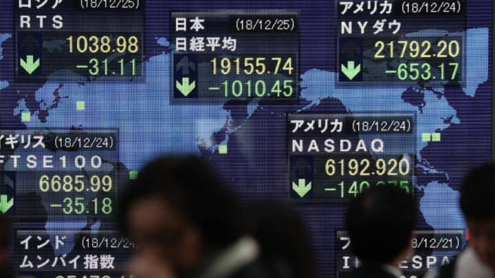 Major Asia markets close lower, suppliers follow Apple downward